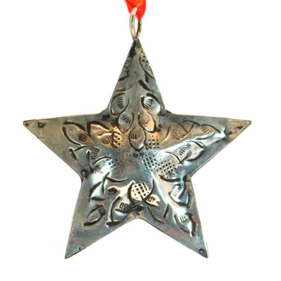 "3"" Metal Star Ornament"