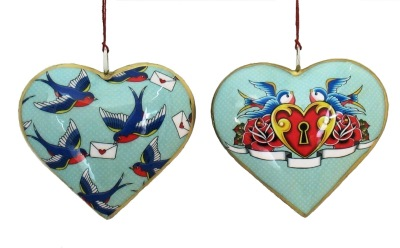 Sweetbird/Love Letter Heart Ornament