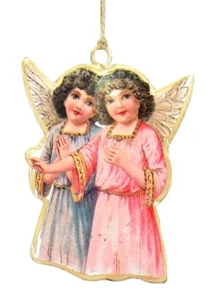 Two Angels Ornament