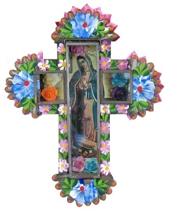 VG Cross Nicho with Decoration