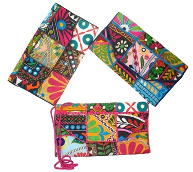Vintage Banjara Fabric Clutch Purse