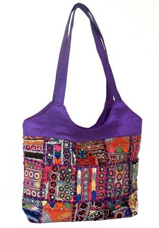 Vintage Banjara Fabric Bag