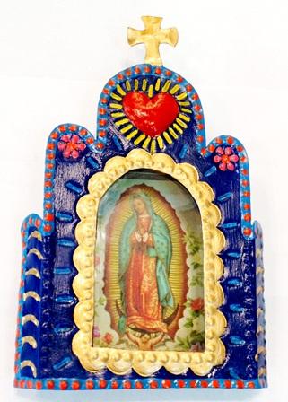 Virgen Corazon Nicho