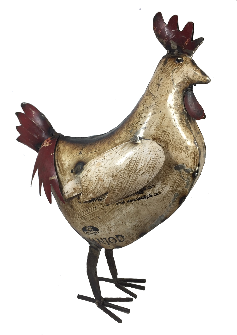 ***NEW ITEM***Recycled Rooster