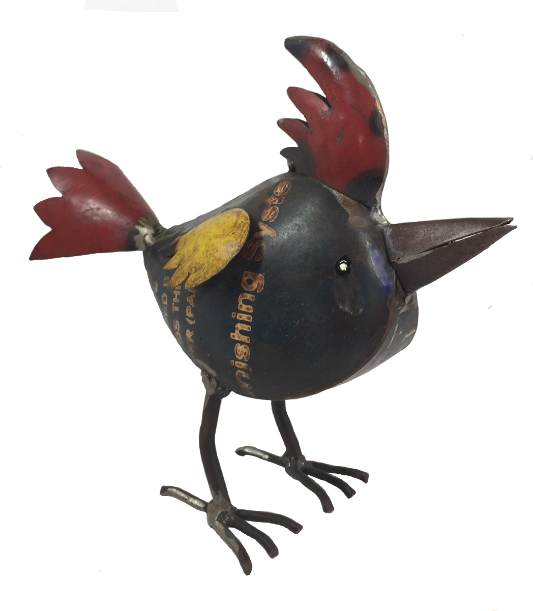 Recycled Woody Bird