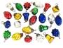 "1"" Holiday II Mini Glass Ornament Assortment"