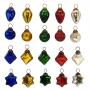 "1"" Holiday I Mini Glass Ornament Assortment"