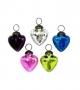 """2"""" Glass Heart Ornament Assortment"""