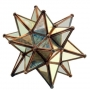 Antiqued Mirror Moravian Star for Tealight in 3 sizes