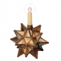 Antiqued Mirror Star for Taper Candle