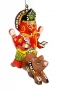 Flying Ganesh Hanging Ornament