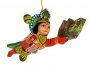 Flying Hanuman Hanging Ornament