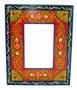 Folk Art Painted Frame