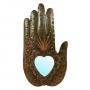 Hand/Sacred Heart Mirror