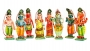 Hindu God Ornament Set