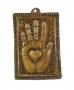 Square Sacred Heart Milagro