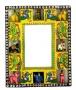 Painted Animal Frame Mirror